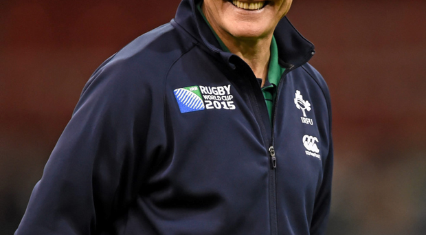 Joe Schmidt is unlikely to throw any of his fresh faces in at the deep end. Photo: Sportsfile
