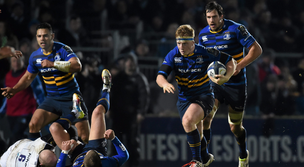 Leinster's James Tracy stood up to the Bath bullying up front (SPORTSFILE)