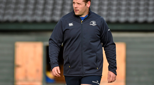 Mike Ross will miss the first two Six Nations games but he is hoping to find his form with Leinster to earn a recall for the last three Ireland matches (Sportsfile)