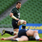 Six years afer winning his first Ireland cap Rhys Ruddock had added just five more to his name, but this Six Nations looks nailed on to be his break-out year Photo: Sportsfile
