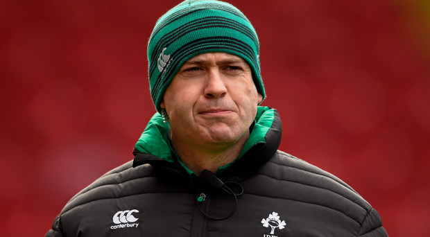 Ireland women's coach Tom Tierney (SPORTSFILE)