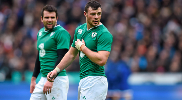 Robbie Henshaw and Jared Payne will face off in one of the many personal duels that will add extra bite to this weekend's inter-pros (SPORTSFILE)