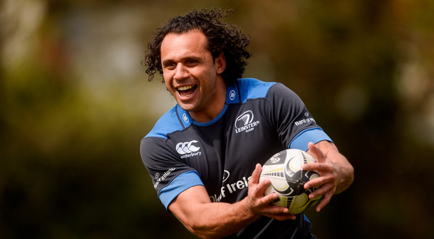 Isa Nacewa and his Leinster team-mates are fired up for the challenge of facing Ulster at Ravenhill tomorrow (SPORTSFILE)