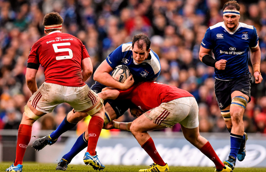 Devin Toner, seen here in action against Munster, is wary of the threat Ulster will pose (SPORTSFILE)