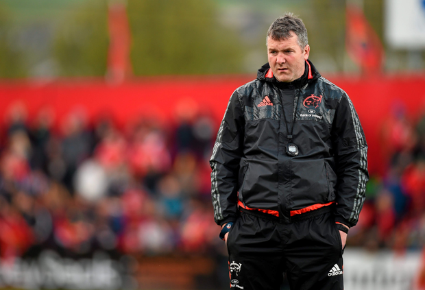 Having been captain on Deliverance Day, 2006, Anthony Foley will feel acutely the pain of Severance Day, 2016. Photo: Sportsfile