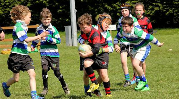 'The weather was perfect for rugby with some outstanding play on display throughout the whole day.'