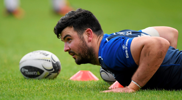 Leinster's Mick Kearney is wary of the threat posed by Ulster in the Pro12 semi-finals. Photo: Sportsfile