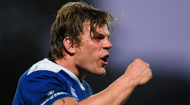 Jordi Murphy was back to his best in the Pro12 semi-final win over Ulster. Photo: RAMSEY CARDY/SPORTSFILE