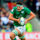 Max Deegan makes a break for Ireland