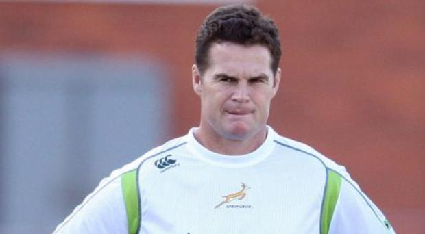 Rassie Erasmus' first game in charge of Munster will be against the Scarlets. Picture credit: Steve Haag/Gallo Images