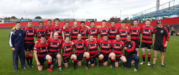 Tullamore RFC senior mens team apply their trade in Division 2C of the All-Ireland league