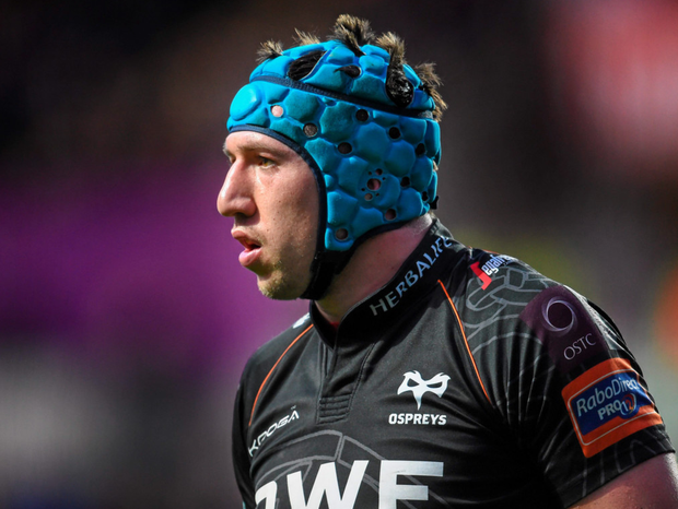 Ospreys' Justin Tipuric. Photo: Sportsfile