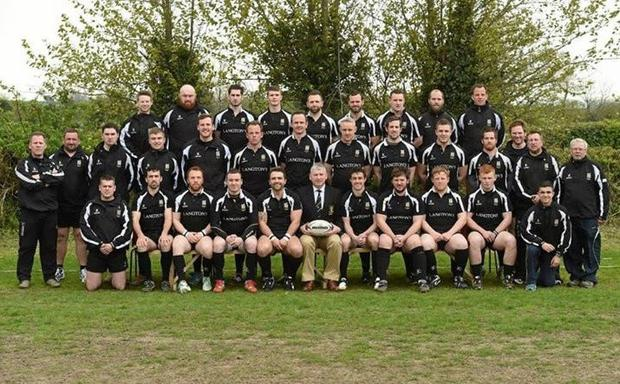 The Kilkenny team that contested the 2014 Provincial Towns Cup final.