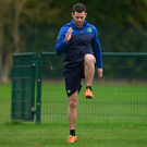 Fergus McFadden (centre) pictured during training. SPORTSFILE