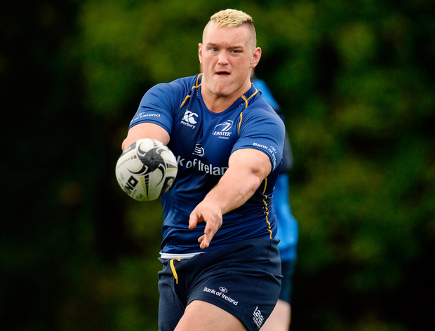 'The likes of Andrew Porter getting time against the Scarlets last week and making such a strong impact just adds so much to the environment in the club moving towards bigger things.' SPORTSFILE