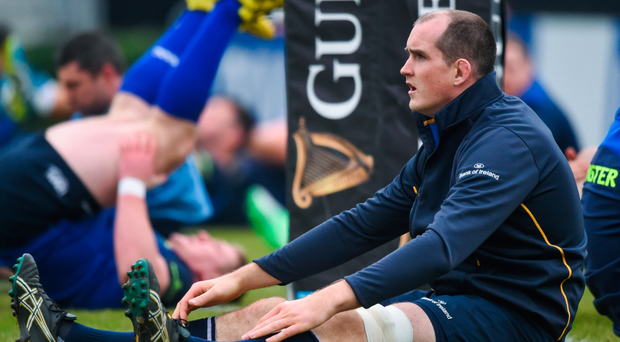 Devin Toner: I've been lucky to never have a serious injury. Photo: Sportsfile