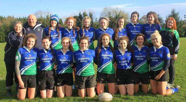 Gorey's U-18 girls' team