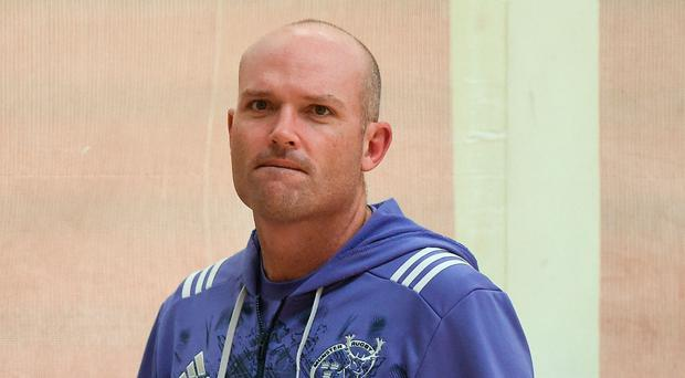 Munster defence coach Jacques Nienaber Picture: Sportsfile