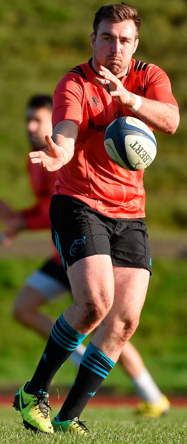 Niall Scannell: thriving under tutelage of Jerry Flannery