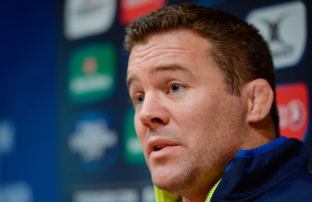 Leinster coach John Fogarty Picture: Sportsfile