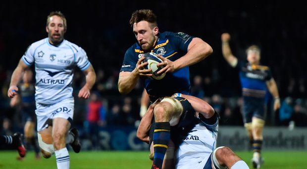Jack Conan was on a mission for club and country against Montpellier Picture: Sportsfile
