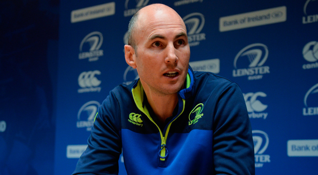 Girvan Dempsey pictured at a press conference this week. Photo: Sportsfile