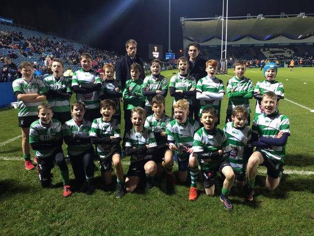 Naas Minis who played at half time in the RDS recently