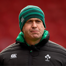 Ireland women's coach Tom Tierney. Photo: Sportsfile
