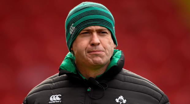Tom Tierney has made two changes to the Ireland Women's side for today's game against Italy. Photo: Sportsfile