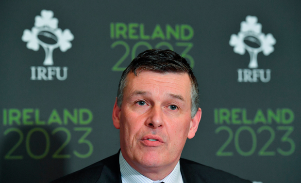IRFU chief executive Philip Browne. Photo: Sportsfile
