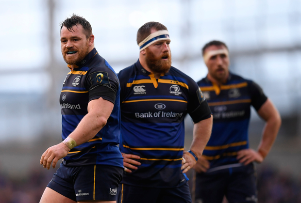 Cian Healy following the European Cup victory over Wasps in the Aviva stadium earlier this month. Photo: SPORTSFILE