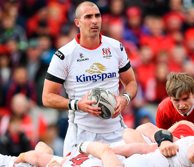 Ruan Pienaar in action for Toyota Cheetahs