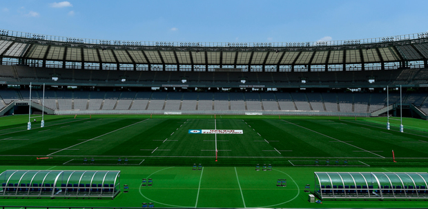 A general view of the Ajinomoto Stadium in Tokyo. Photo: Sportsfile