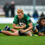 Connacht's Rory Scholes is tackled by Cardiff's Josh Navadi yesterday. Photo: Diarmuid Greene