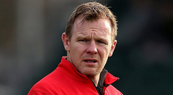 Saracens boss Mark McCall is hoping for a third successive tournament win Photo: Getty Images
