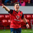 'Keatley had a smile on his face around Limerick on Saturday' Photo: Sportsfile