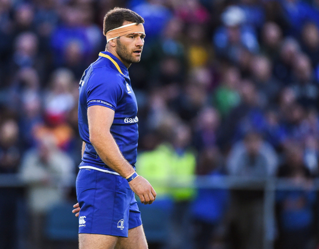 Fergus McFadden hopes to begin the international break on the back of victory tonight. Photo: SPORTSFILE