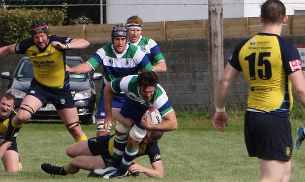 Peter Synott during Suttonians' clash with Clondalkin earlier this season