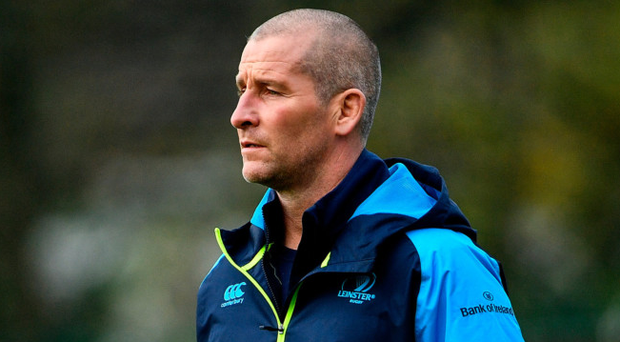 Stuart Lancaster will be key to Leinster's success in the Champions Cup. Photo: Sportsfile