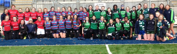 The Leinster Schools Girls X7s Cup was contested at Donnybrook Stadium last Friday