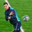 Johnny Sexton training with Leinster
