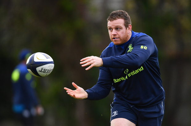Sean Cronin has been boosted by returning to the Ireland squad but his immediate focus is a strong performance in France this weekend. Photo: Sportsfile