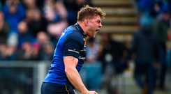 Jordi Murphy and Leinster could face a quarter-final against Exeter Photo: David Fitzgerald/Sportsfile