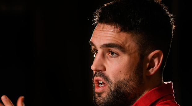 Conor Murray during a Munster Rugby press conference. Photo: Sportsfile