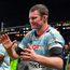 Donnacha Ryan put in another huge shift for Racing and made a match-winning tackle at the death that resulted in a turnover penalty to clinch the win in Leicester. Photo: Sportsfile