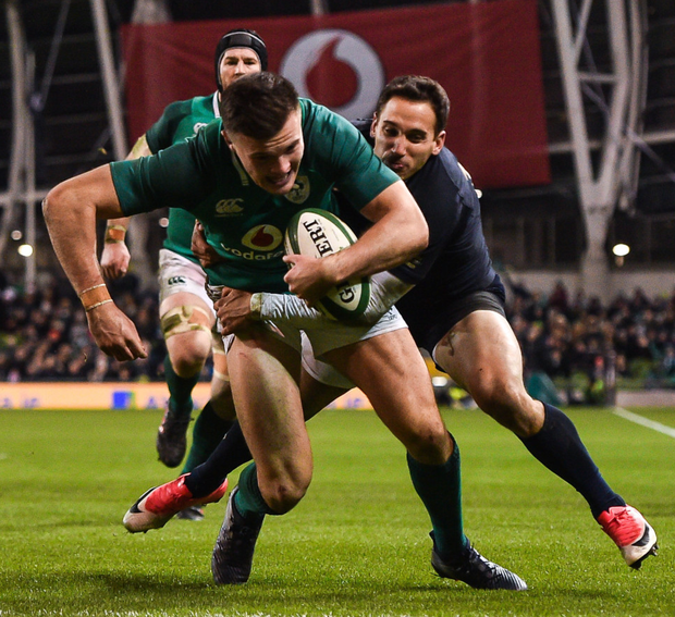 Ulster and Ireland wing Jacob Stockdale