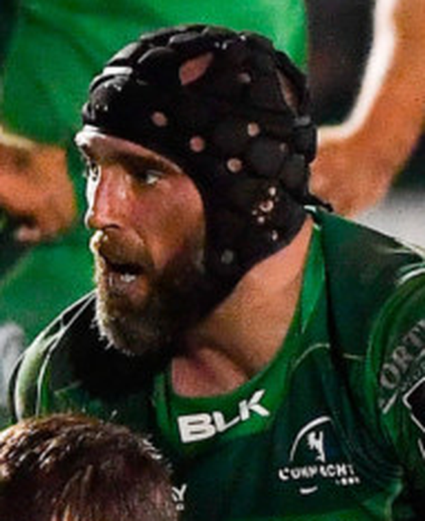Connacht captain John Muldoon. Photo: Sportsfile