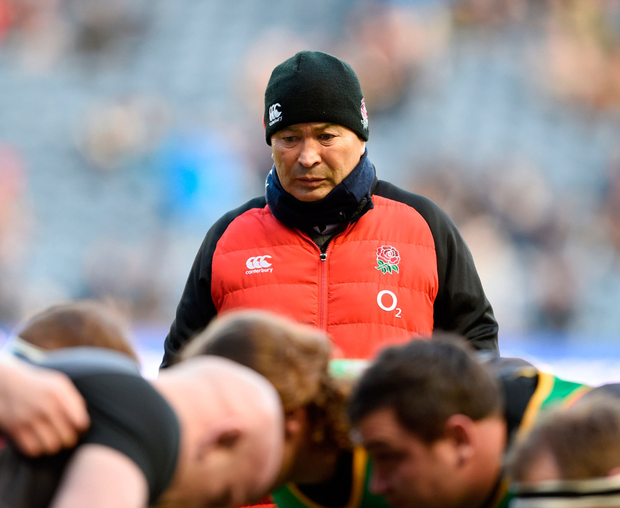 Eddie Jones is aware that England have lacked impact off the bench in the Six Nations Photo: PA