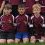 Roscrea's U-10s line out before a blitz earlier this season