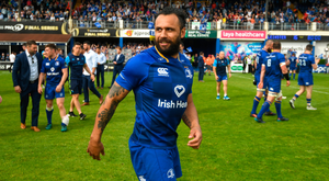 Isa Nacewa after last weekend's game in the RDS. Photo: Sportsfile